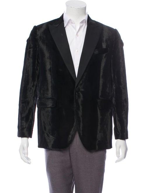 Celine Velvet Tuxedo Jacket black