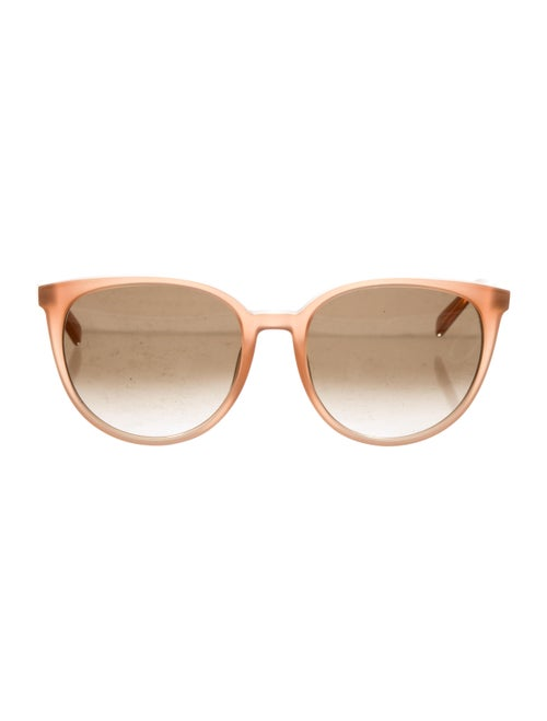Celine Acetate Round Sunglasses