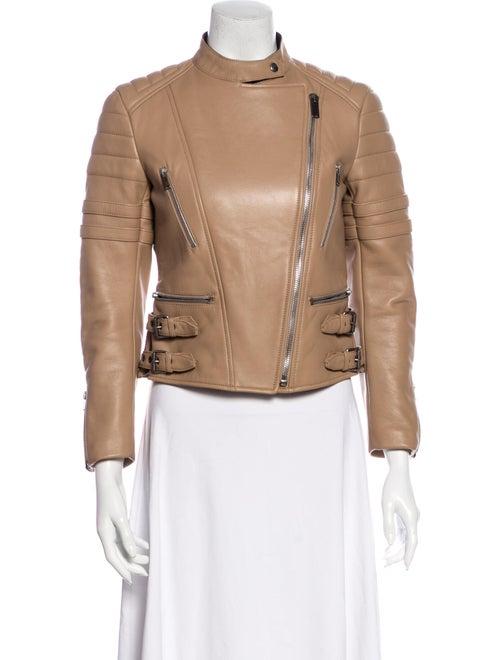Celine Leather Biker Jacket - image 1