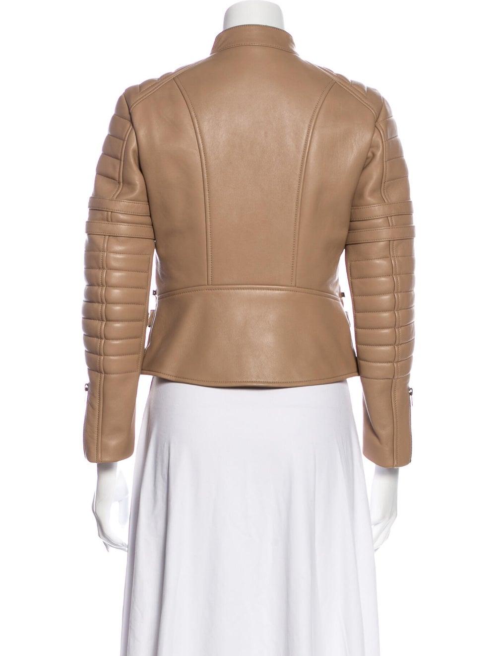 Celine Leather Biker Jacket - image 3