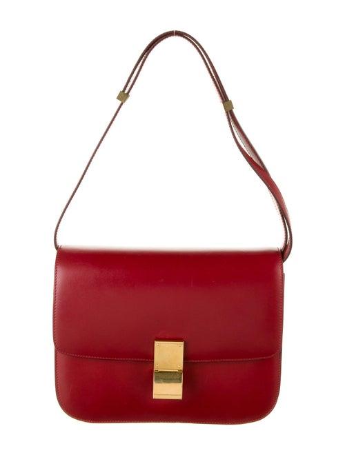 Celine Medium Classic Bag Red