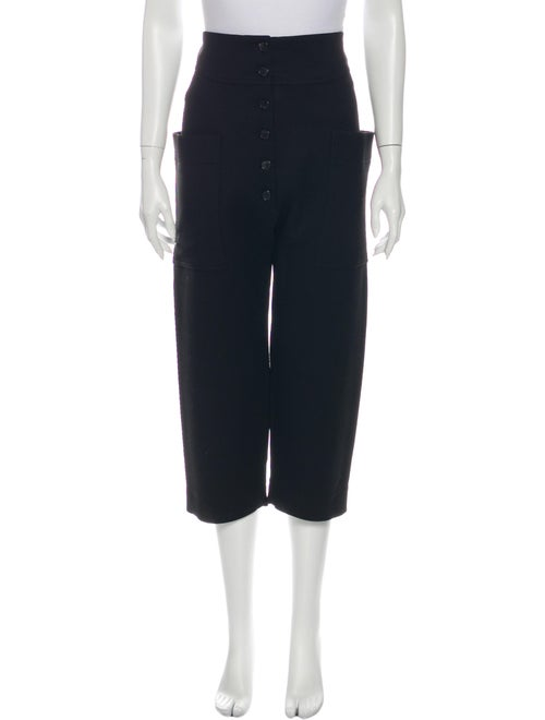 Celine Wool Wide Leg Pants Wool