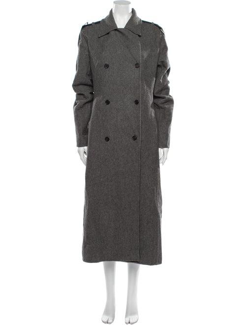 Celine Trench Coat Grey