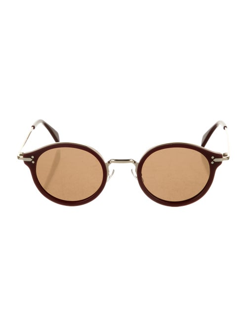 Celine Round Tinted Sunglasses