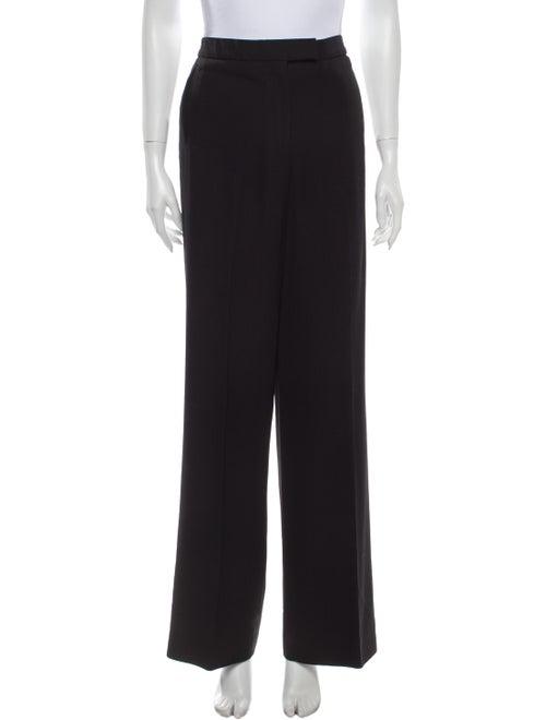 Celine Wide Leg Pants Black