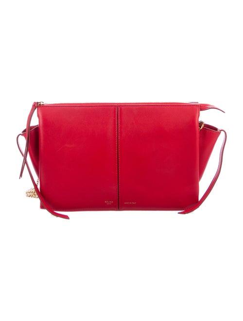 Celine Trifold Crossbody Bag gold