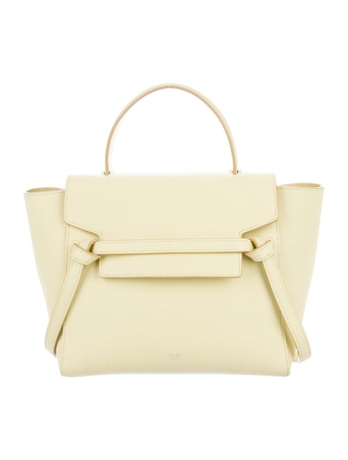 Celine Nano Belt Bag yellow