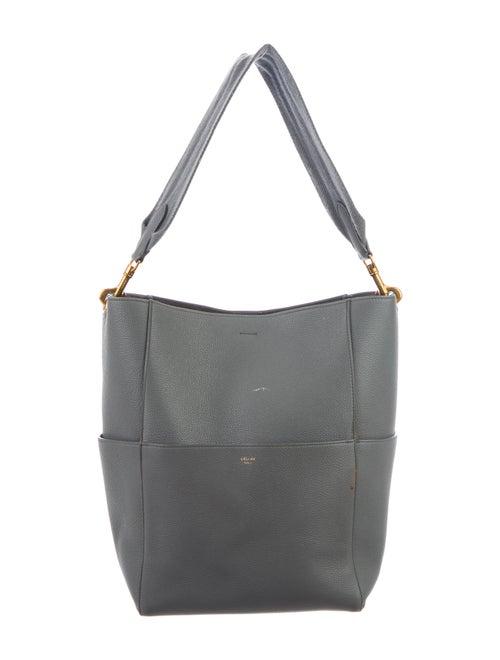 Celine Seau Sangle Bag Grey