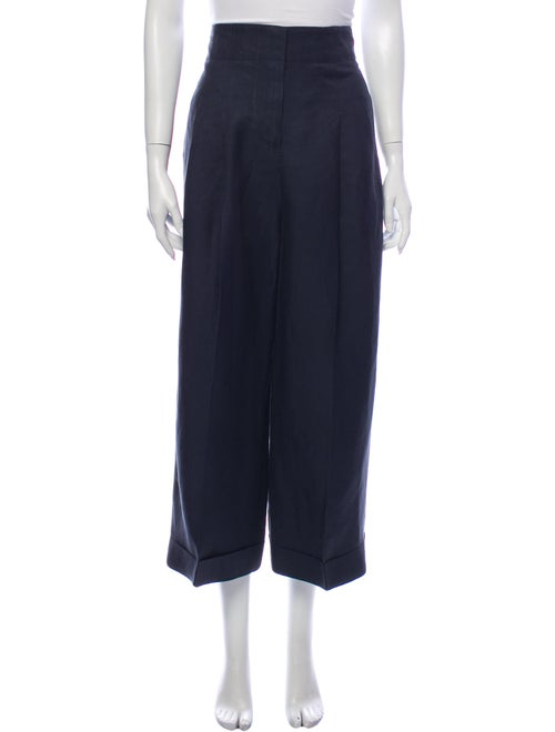 Celine Wide Leg Pants Blue
