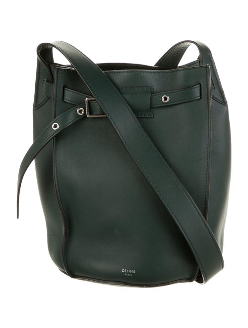 Celine Big Bucket Bag Green