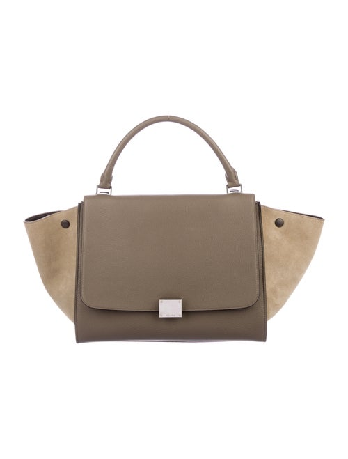 Celine Medium Trapeze Bag Olive
