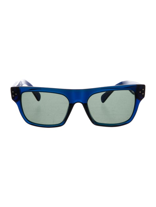Celine Wayfarer Tinted Sunglasses Navy