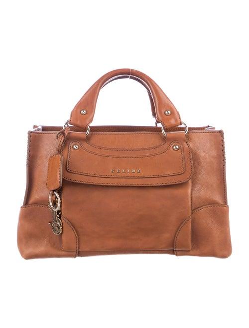 Celine Vintage Leather Boogie Bag gold