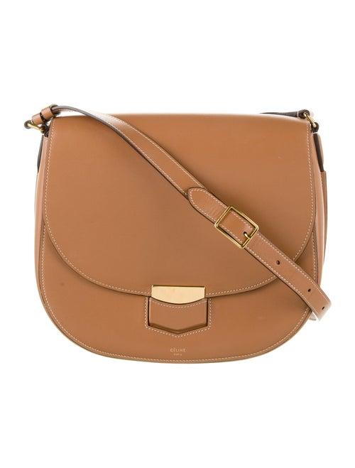 Celine Medium Trotteur Bag Brown