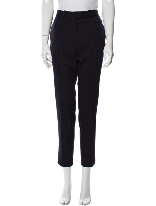 Celine Wool Skinny Leg Pants Wool