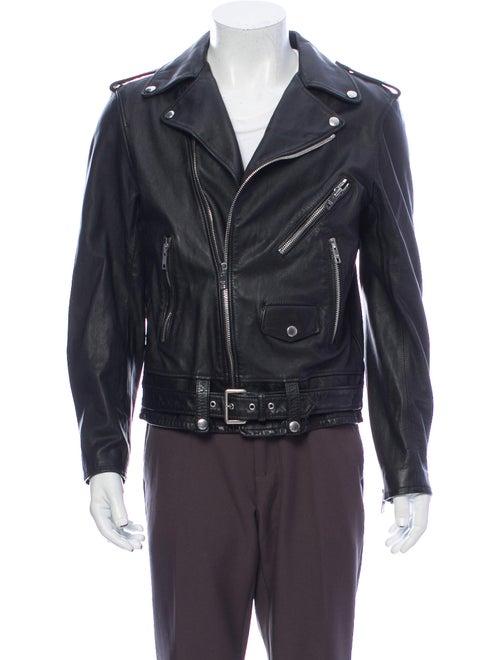 Celine Moto Jacket Black