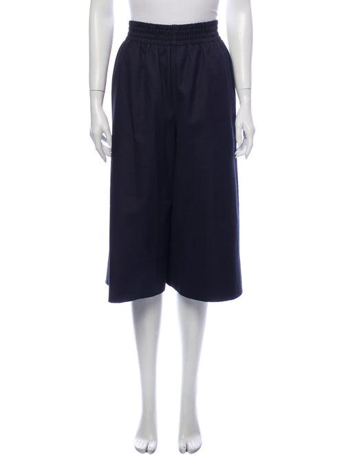 Celine Wide Leg Pants Blue