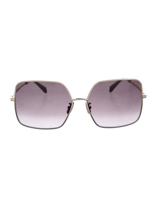 Celine Square Gradient Sunglasses Gold