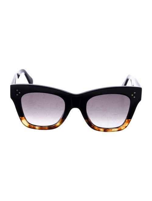 Celine Square Gradient Sunglasses Black