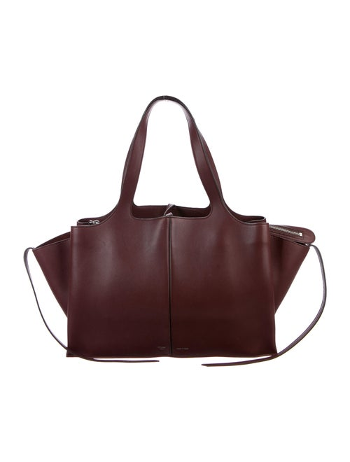 Celine Medium Trifold Bag gold