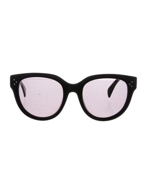 Celine Oversize Polarized Sunglasses Black