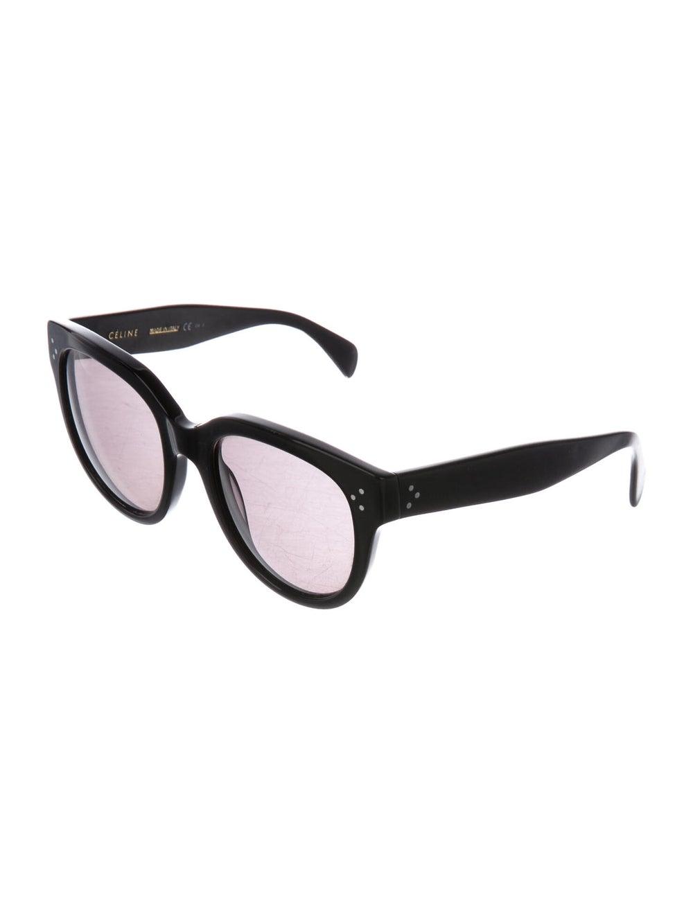 Celine Oversize Polarized Sunglasses Black - image 2