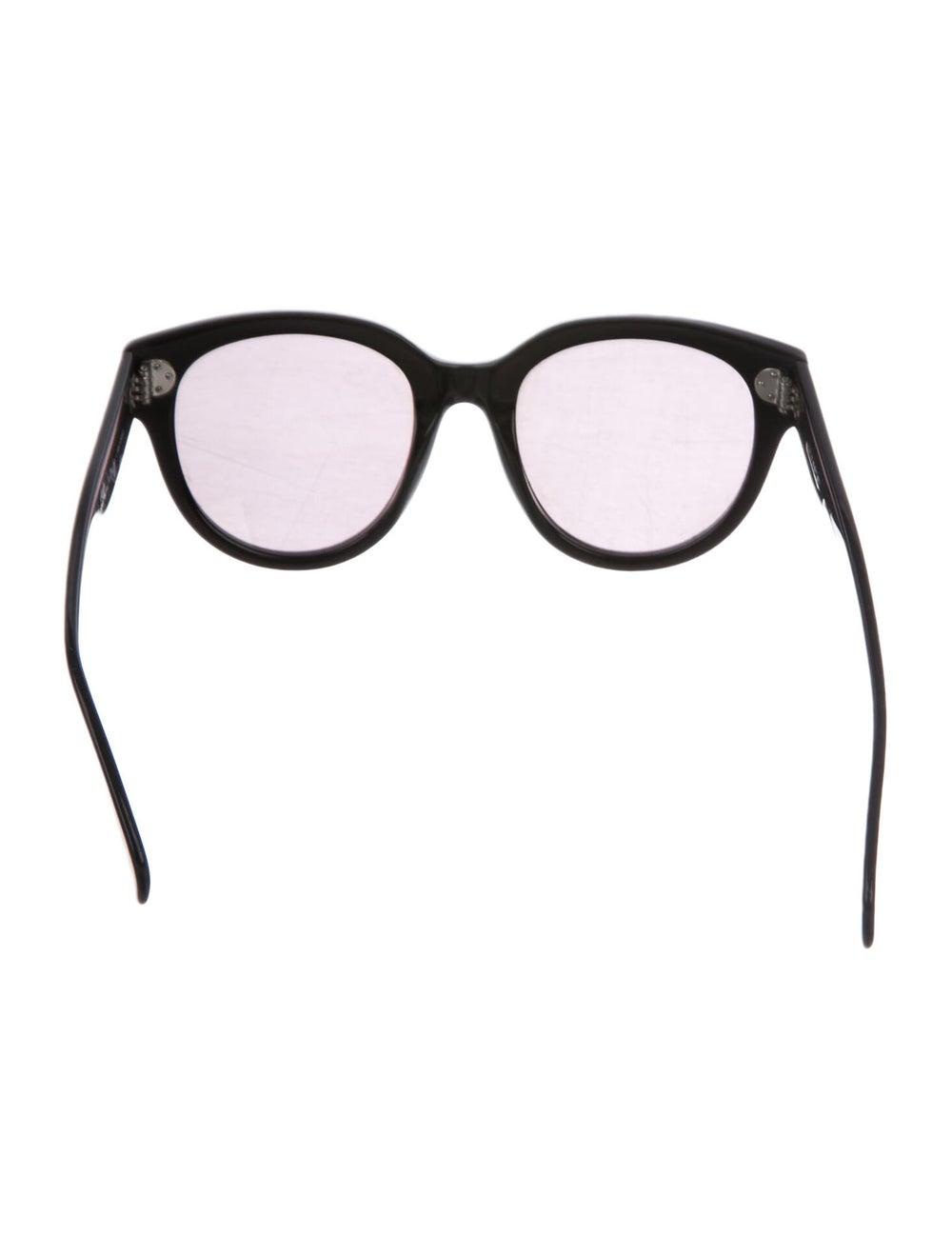 Celine Oversize Polarized Sunglasses Black - image 3