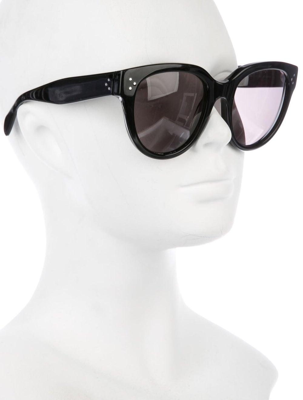 Celine Oversize Polarized Sunglasses Black - image 4