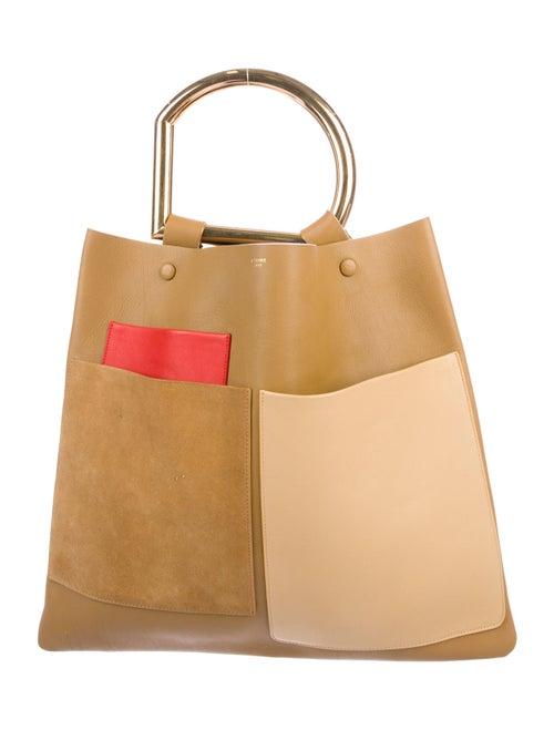 Celine Geometrical Sac Bag gold