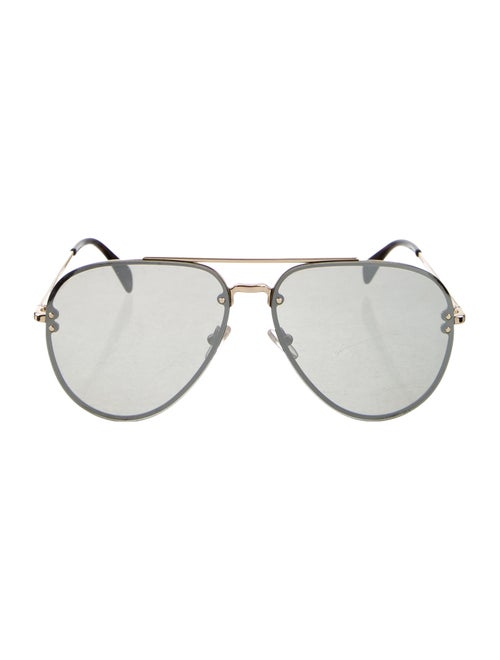 Celine Tinted Aviator Sunglasses Gold