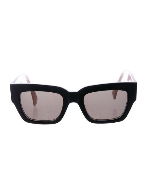 Celine Square Tinted Sunglasses Black