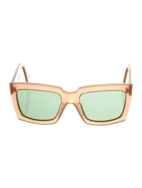 Celine Oversize Tinted Sunglasses Pink