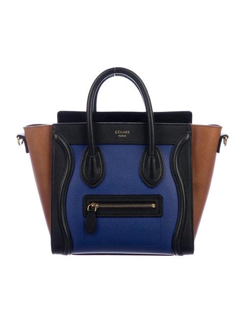 Celine Nano Luggage Tote brass - image 1