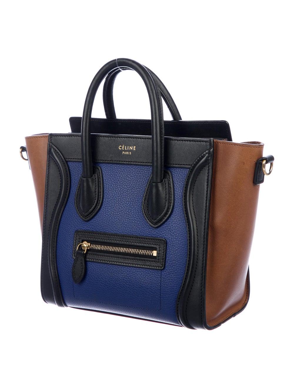 Celine Nano Luggage Tote brass - image 3