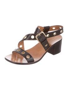 Celine Leather Sandals