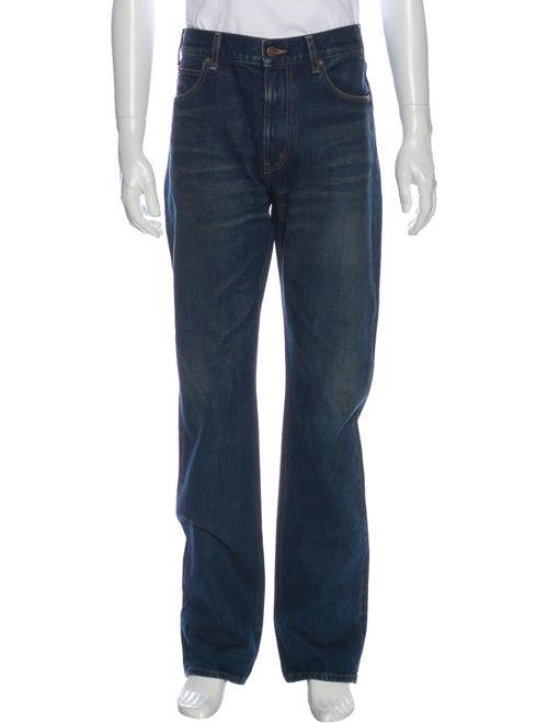 Celine Straight-Leg Jeans w/ Tags Blue
