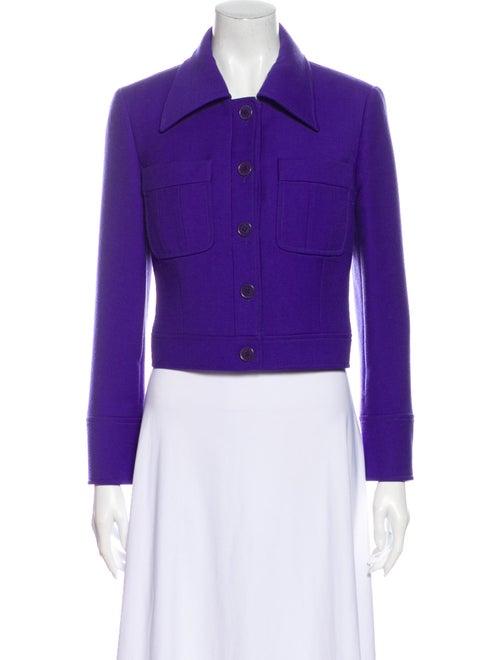 Celine Vintage Wool Blazer Wool