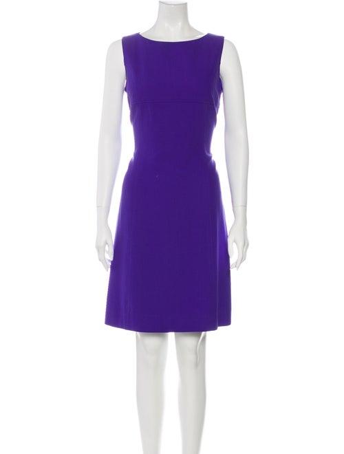 Celine Vintage Knee-Length Dress Blue