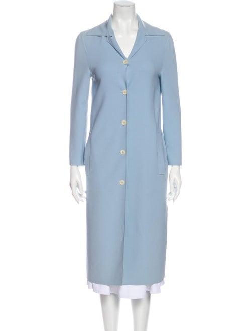 Celine Vintage Coat Blue