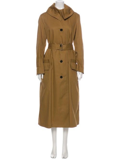 Celine Trench Coat Brown