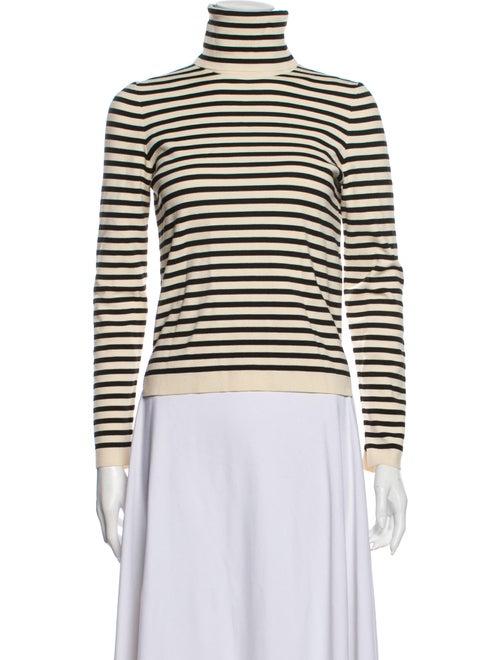 Celine Striped Turtleneck Sweater