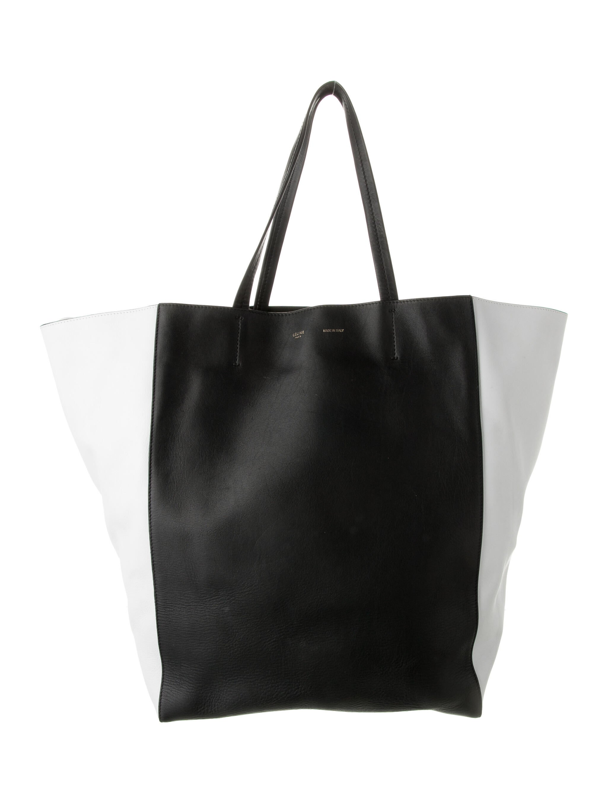 Celine Large Cabas Phantom Tote - Handbags -           CEL137487 | The RealReal