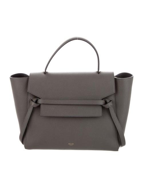 Celine Mini Belt Bag Grey
