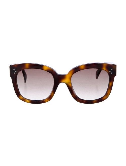 Celine Tortoiseshell Gradient Sunglasses