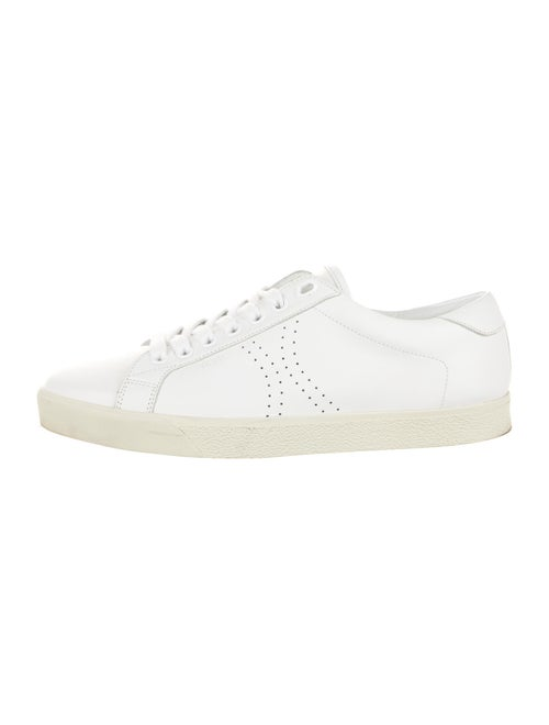 Celine Leather Sneakers White