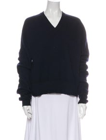 Celine Wool V-Neck Sweater