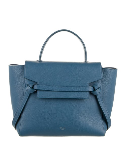 Celine Micro Belt Bag Blue