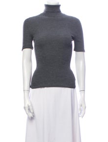 Celine Wool Turtleneck Sweater