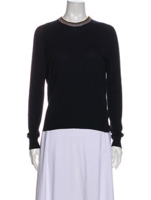 Celine Wool Crew Neck Sweater