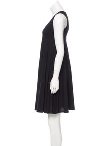 Celine Céline Wool Empire Waist Dress